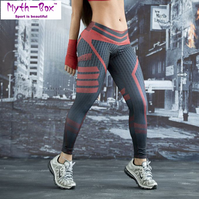 Women Leggings Sport 3D Print Trouser Running Pant Quick Dry Elastic High Waist Pants For Yoga Skinny Fitness Tights Gym Leggins