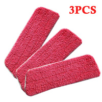 Водяное напыление на ткань бытовой очиститель пола запасная часть дома красный для плоской головки швабры 38*42*14 см