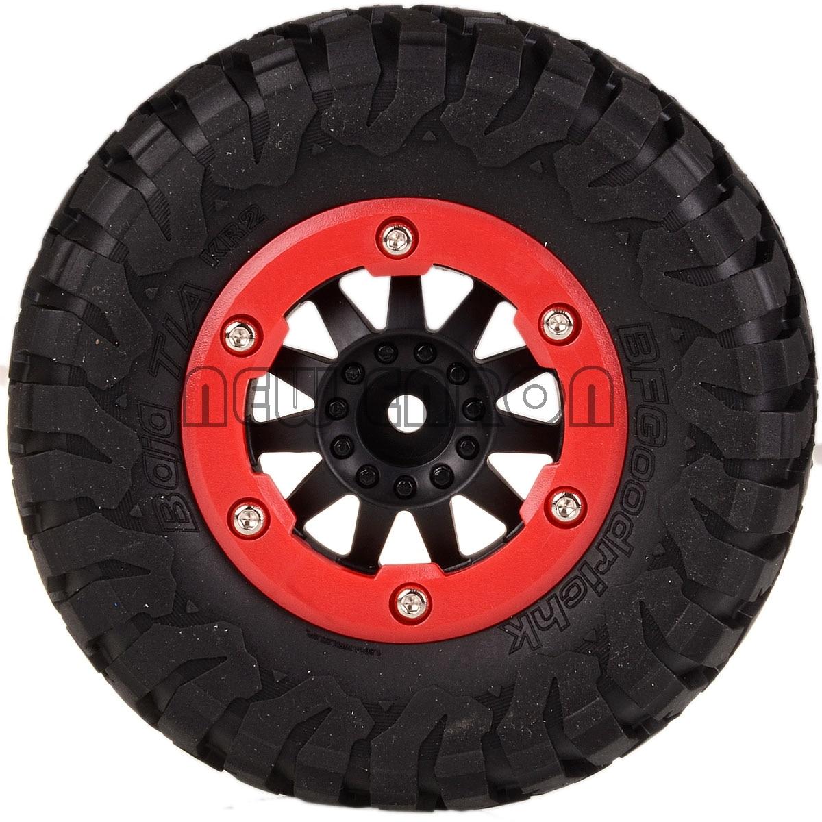 NEW ENRON Course & Bead-Lock Wheel Rims Hub 12MM FOR TRAXXAS 10SC HPI