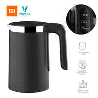 Xiaomi VIOMI Pro 1.5L Electric kettle Intelligent thermostat Anti-Scarlett 304 Stainless Steel Electric Teapot 1800W