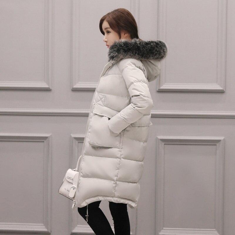 Women's 2020 Down Jacket Warm Coat Winter Jacket Women Plus Size 7XL Female White Duck Down Coats Abrigo Mujer WXF127 S