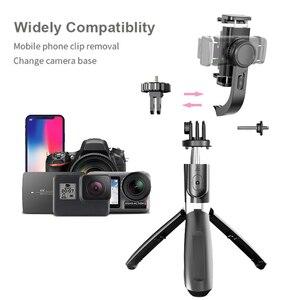 Image 4 - Auto Draaibare Bluetooth Handheld Gimbal Stabilizer Mobiele Telefoon Selfie Stok Houder Verstelbare Statief Stand Voor Iphone/Huawei