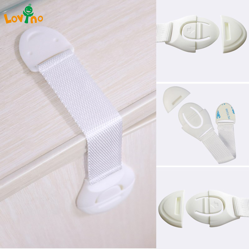 3/5Pcs Creative baby safety Lock Plastic Drawer Door Toilet Cabinet Cupboard Safety Locks Baby Protection