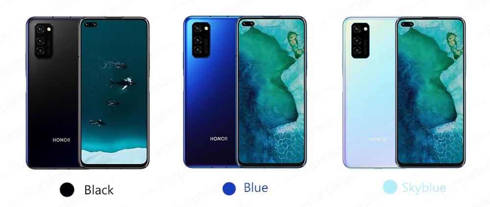 Original Honor V30 Kirin990 7nm Octa core 5G Smartphone 40w Super charge (14)