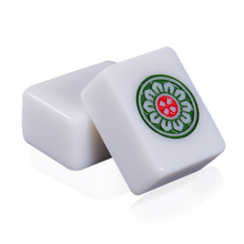 White Jade color 40mm or 42mm Chinese standard Mahjong 144pcs tiles Full set Game on the table