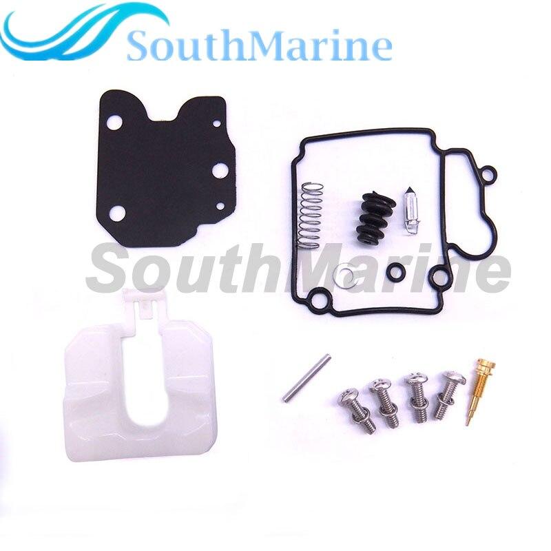 Boat Motor Carburetor Repair Kit 65W-W0093-01 02 67C-W0093-00 01 For Yamaha F25 F30 F40 Outboard Engine