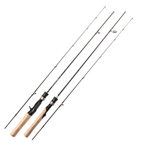 UL Power 1.68m 1.8m 1.98m 2.1m 2 Sec Carbon Spinning Rods Casting Fishing Rod Ultralight Fishing Pole Travel Rod Fishing Tackle