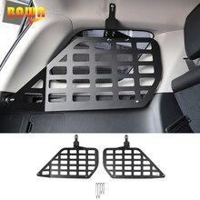 BAWA arka rafları aksesuarları Toyota 4Runner araba bagaj rafı depolama braketi Toyota 4Runner 2010 için + iç aksesuarları