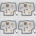 Набор для Ремонта Карбюратора, игольчатый клапан, 4 комплекта для ZZR400 1990-2004 ZZR 400