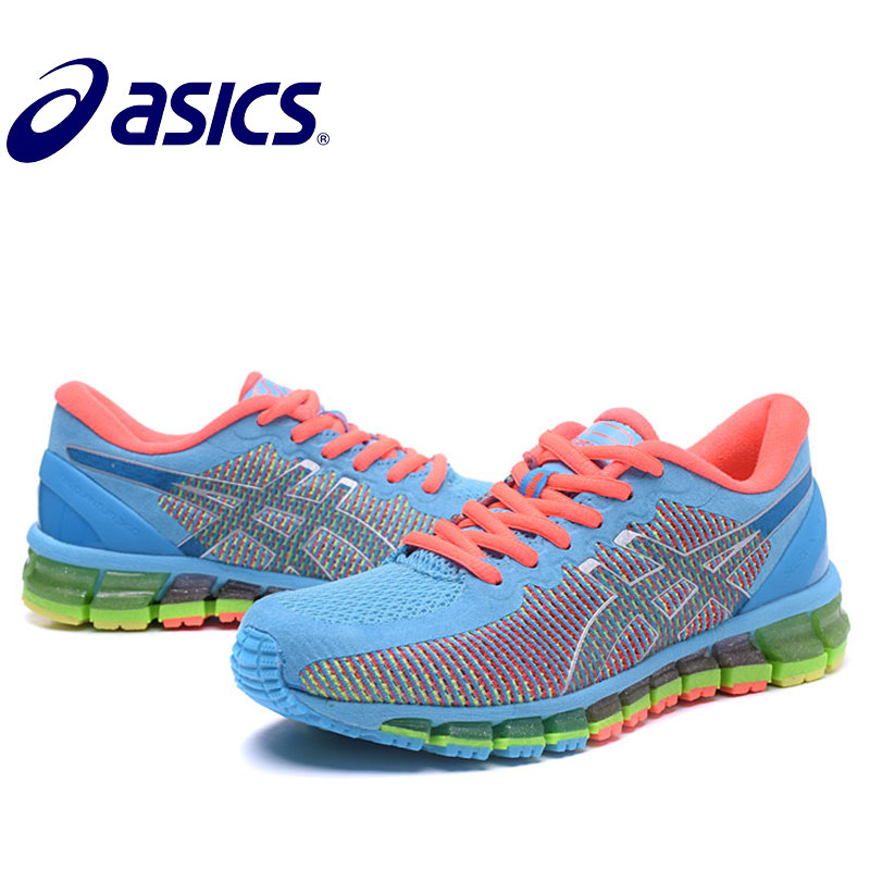 Original Asics Gel-Quantum 360 Woman's Shoes Breathable Stable Running Shoes Outdoor Tennis Shoes Hongniu