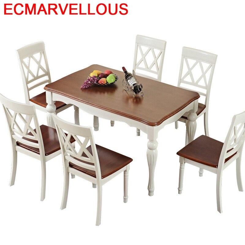 Yemek Masasi Tavolo Tafel Dinning Set Escrivaninha Pliante Juego Kitchen Redonda Wood De Jantar Bureau Comedor Mesa Dining Table
