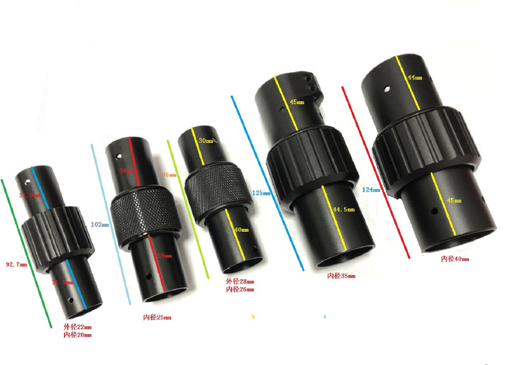 25mm 30mm 40mm Clip de tubo de carbono brazo redondo Folio aleación de aluminio pieza plegable fotografía aérea protección de plantas