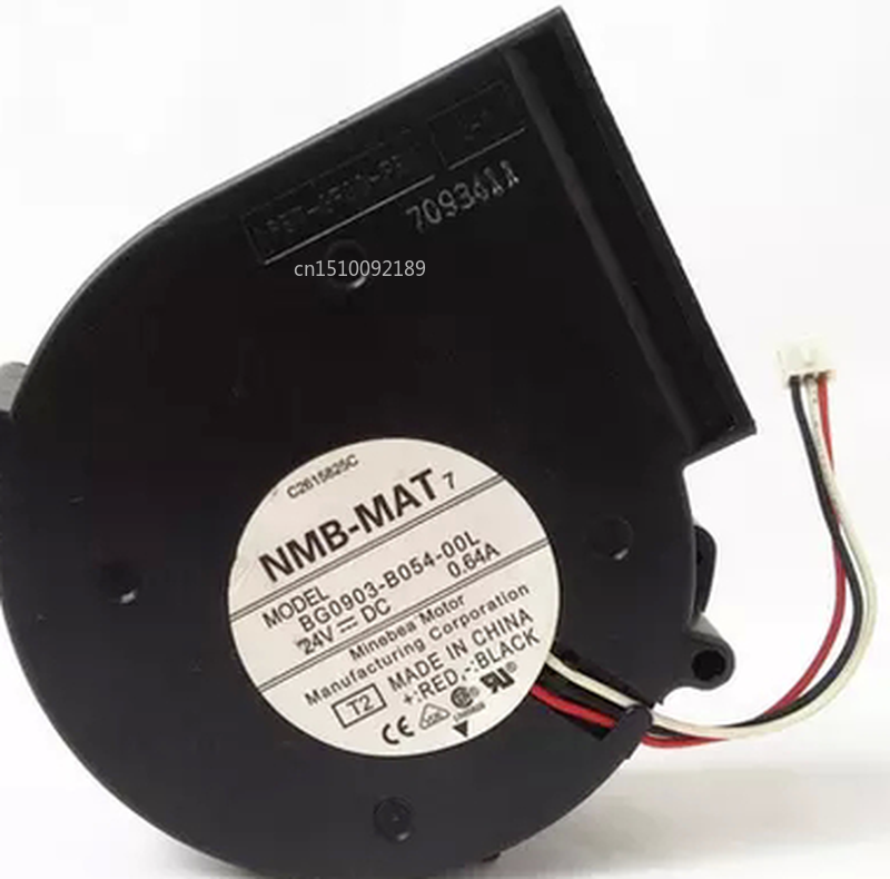 Free Shipping BG0903-B054-00L 24V 0.64A 9CM 9733 3-wire Variable Frequency Turbo Fan