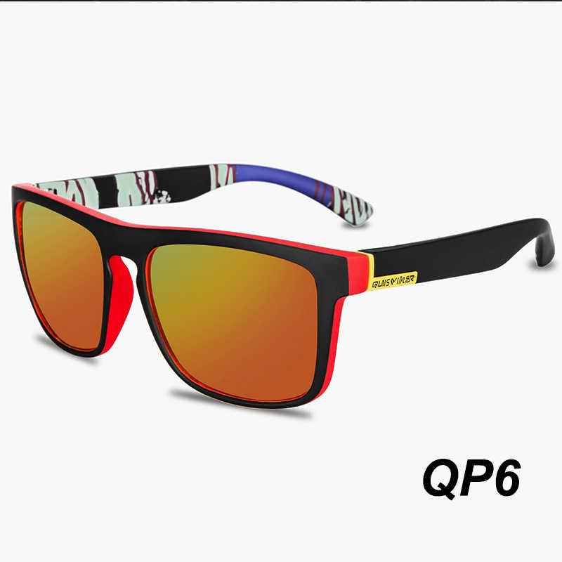 QUISVIKER marka 2019 nowy plac okulary mężczyźni polaryzacyjne okulary przeciwsłoneczne Retro Vintage gogle kobiety moda UV400 jazdy okulary