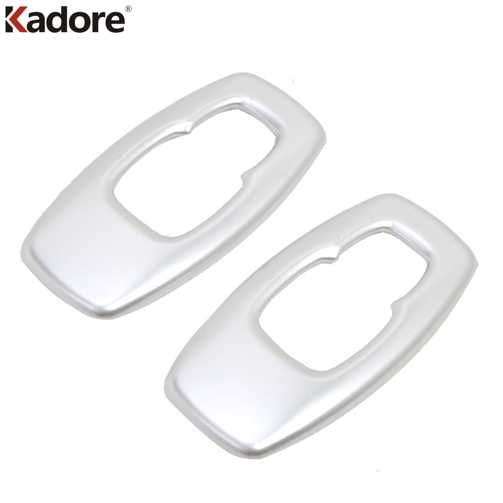 Car Interior Accessories For RENAULT KADJAR 2016 2017 2018 ABS Matte Reading Light Frame Decoration Cover Trim