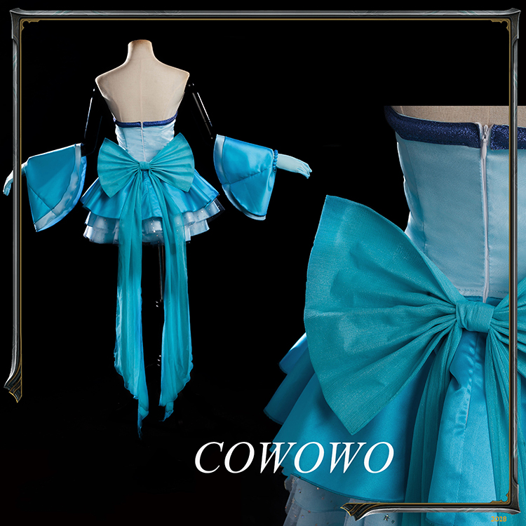 Hanon Hosho Legend of Mermaid Melody Pichi Pichi Pitch Cosplay Costume Dress Sa