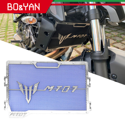 For Yamaha MT 07 MT07 MT-07 FZ07 FZ-07 2014-2018 Motorcycle Radiator Protector Guard Grill Cover Cooled Protector Cover
