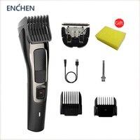 ENCHEN Neue Barber Elektrische Haar Clipper Professionelle Trimmer Für Männer Cordless Trimmer Bart Schneiden Maschine Haar Cut Rasierer