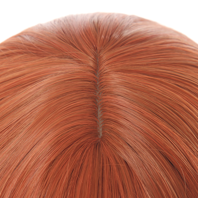 Image 5 - L email Wig 70cm Long Orange Lolita Wigs Woman Hair Wave Cosplay Wig Heat Resistant Synthetic Hair Perucas-in Synthetic None-Lace  Wigs from Hair Extensions & Wigs