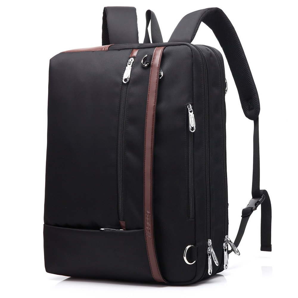 Convertible Laptop Backpack Men 17 Inch Shoulder Bag School Bag Backpack Men Business Bag Men's Bag Back Pack-in Backpacks from Luggage & Bags    1
