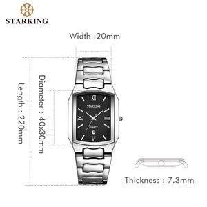 Image 5 - STARKING montre à Quartz en acier inoxydable pour hommes, marque célèbre, tendance, modèle 2020, BM0605
