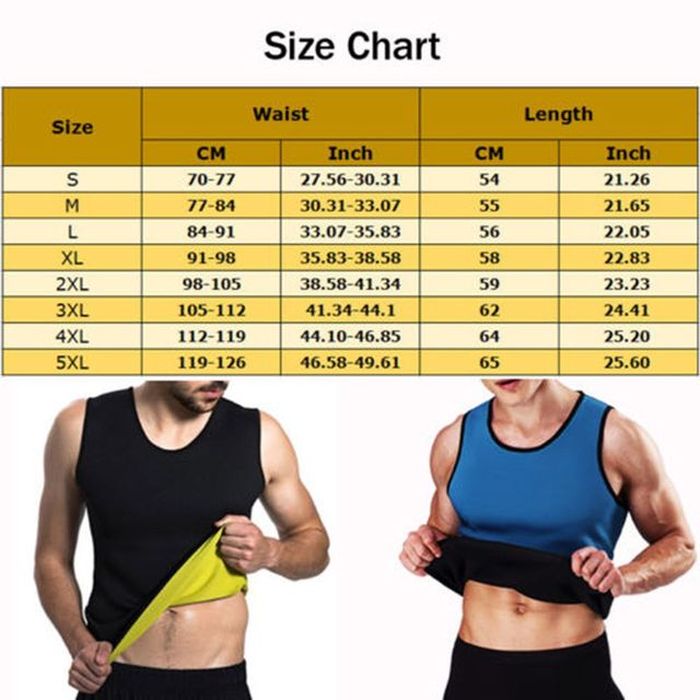 Men's Slimming Body Shaper Modeling Vest Belt Belly Reducing Shaperwear Men Fat Burning Loss Weight Waist Trainer Sweat Corset 5