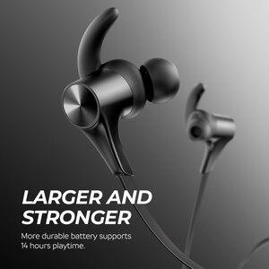 Image 4 - SoundPEATS Bluetooth 5.0 Auricolari Senza Fili Magnetico IPX6 in ear Auricolari Senza Fili 14 Ore tempo di Gioco APTX HD CVC Q12 HD
