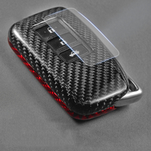 건식 탄소 섬유 키 셸 키 커버 렉서스 ES300h RX NX300 NX200t UX260h 키 케이스 ES RS GS IS LX NX 시리즈 용 보호 가방
