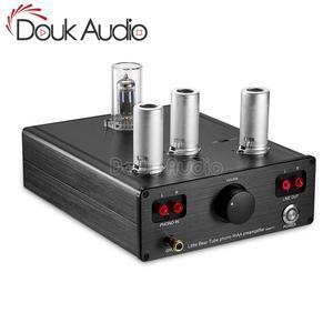 Image 1 - Douk אודיו קטן דוב T11 6N2/12AX7 צינור ואקום Phono פטיפון קדם מגבר HiFi מגבר מראש MM RIAA פטיפון מגבר קדם