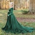 Новые Элегантные платья для беременных длинное платье для беременных Макси платье для беременных реквизит для фотосессии