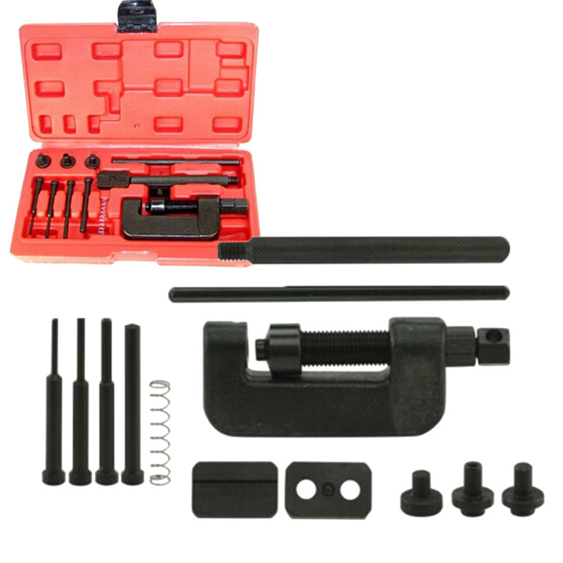 Bicycle Motorcycle Chain Breaker Riveting Tool Cutter OHV Separator Accessories