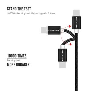 Image 2 - Voxlink usb 케이블 8 핀 10 팩 나일론 꼰 충전 케이블 아이폰 x xs xr 8 7 6 플러스, 6 s 플러스, 5 s, ipad에 대 한 usb 충전기 코드