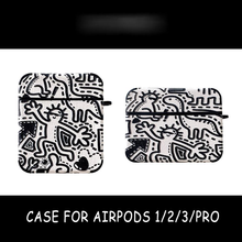 Graffiti Pattern Case for Apple Airpods Pro 3 2 1 Cover Cute Tpu Bluetooth Earphone Case for Airpod Capa Headphone Case Box