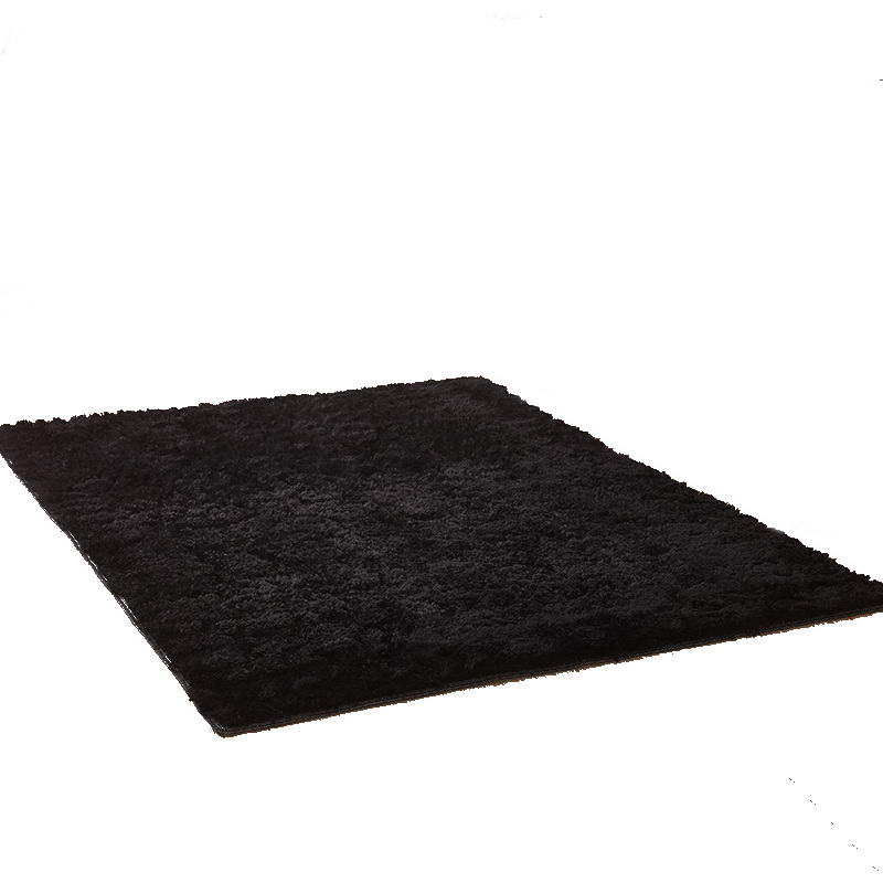 black color carpet Bedroom bathroom living room porch carpet rug mat yoga table mat 60*160cm 50*80cm <font><b>140*200</b></font> cm image