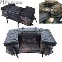 ATV Rack Back Rear Seat Storage Bag Cushion Bottom Cargo Luggage With Backrest Snowmobile Waterproof ATV Accessories Pack 2020