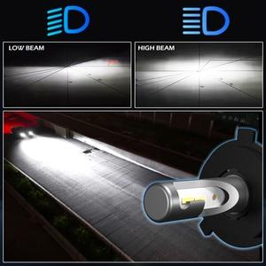 Image 4 - BraveWay 12000LM 2nd CSP Led Lamp H4 H7 H1 H11 HB3 HB4 9005 9006 Led Headlight Car Led Bulb H4 Headlight for Cars Auto Led Light