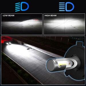 Image 4 - BraveWay 12000LM 2nd CSP Led lamba H4 H7 H1 H11 HB3 HB4 9005 9006 Led araba farı Led ampul H4 far otomobiller için oto Led ışık
