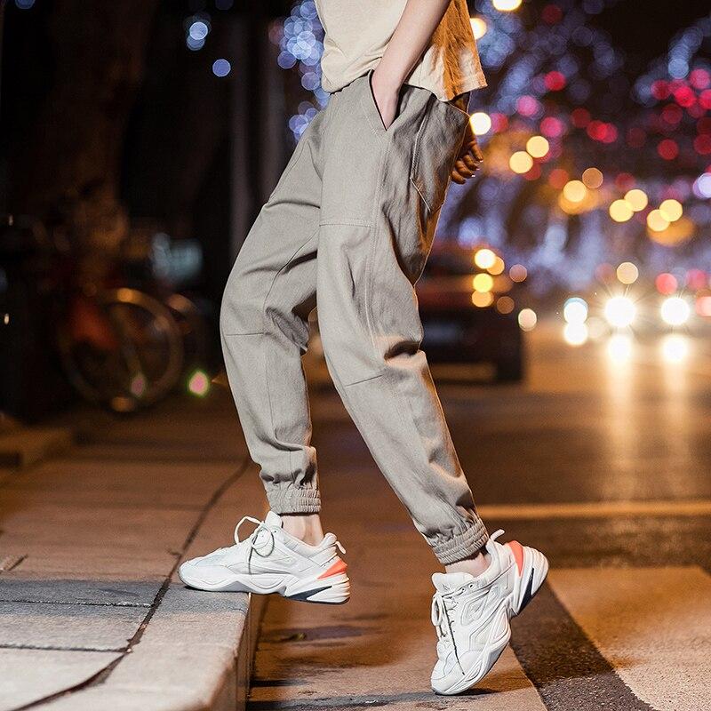 2019 Mens Harem Pants For Male Casual Sweatpants Hip Hop Pants Streetwear Trousers Men Clothes Track Joggers Man Trouser M-5XL