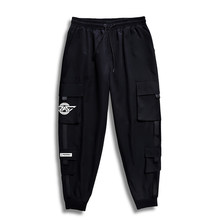 7XL 6XL 5XL XXXXL Hip Hop Hommes Pantalones Hombre Haute Rue Décontracté Pantalon Cargo avec De Nombreuses Poches Pantalon de Jogging Pantalon Harajuku