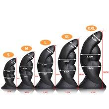 Huge Anal Sex Toys Large Butt Plug Dilatador Prostata Massag