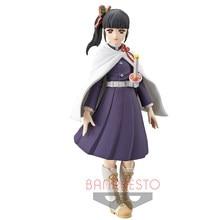 Tronzo original banpresto demon slayer kimetsu não yaiba tsuyuri kanao kizuna não sou pvc figura de ação modelo brinquedos em estoque