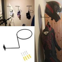 Hook Hanger-Rack Caps Coats Helmet-Holder Motorcycle-Accessories Wall-Mounted Steel
