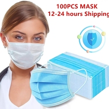 Germ-Protection Face-Mask Mouth-Cover Disposable Anti-Dust-Pm2.5 Tapabocas Non-Woven