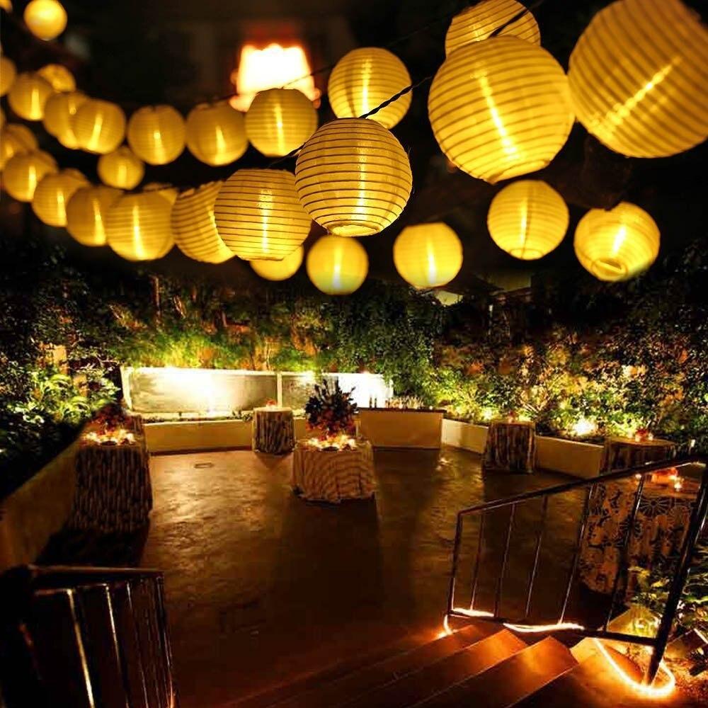 30 Leds Solar String Lights For Garden Decoration Waterproof Solar Garden Lantern Light Chain For Home LED Garland Fairy Light