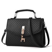 Fashion Deer Handbag Korea shoulder bag 6 Color ladies Package cover bag women fine PU luxury handbags Single shoulder bags deer detail pu bag