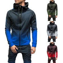 2019 Autumn Casual Men Tracksuit Sets Fashion 3DGradient Swe