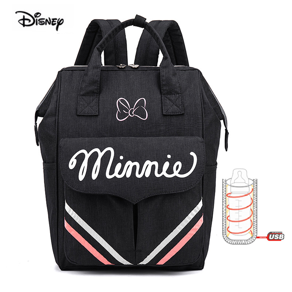 Disney Mommy Bag 2020 New Fashion Shoulder Portable Multifunctional Mother And Child Mother Backpack Waterproof Large Diaper Bag