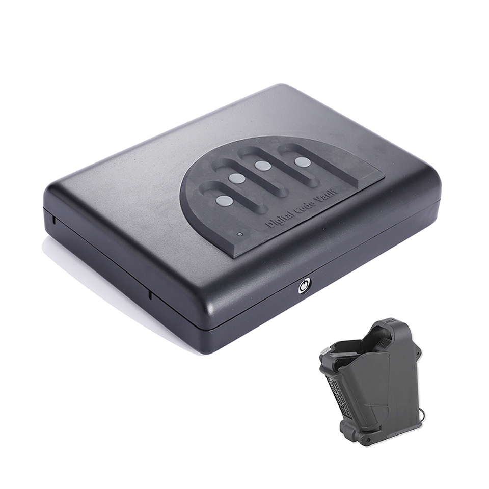Digital Password Code Pin Handgun Pistol Mini Safe Box OS500C