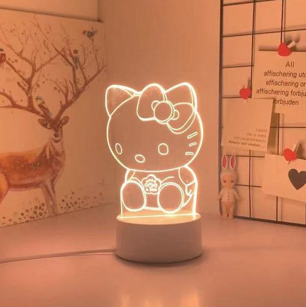 Kawaii Sanrio 3D Night Light/Lamp 4