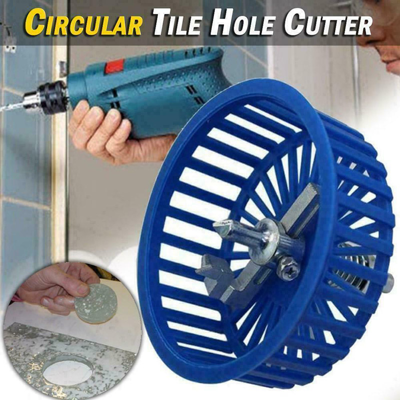 20-94mm Round Circular Tile Cutter Tool With Cowling For Woodworking TN88